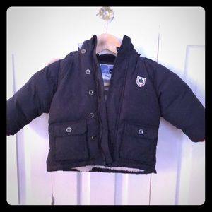 Jacardi down jacket 12M (74 cm)